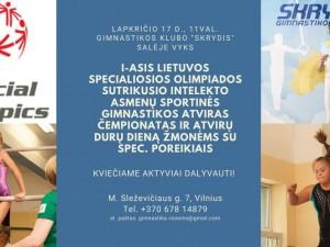 I-ais Lietuvos specialiosios olimpiados sportinės gimnastikos čempionatas